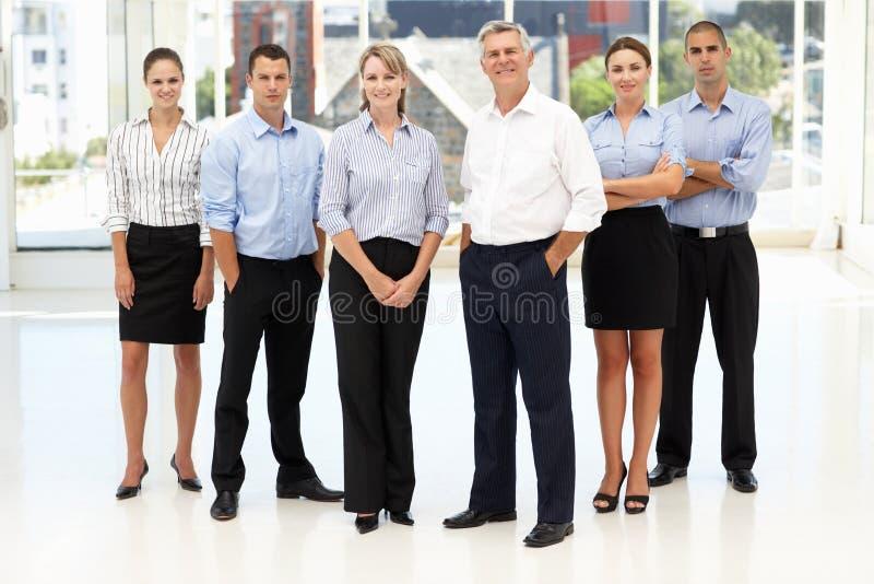 Grupo misturado de executivos imagens de stock royalty free