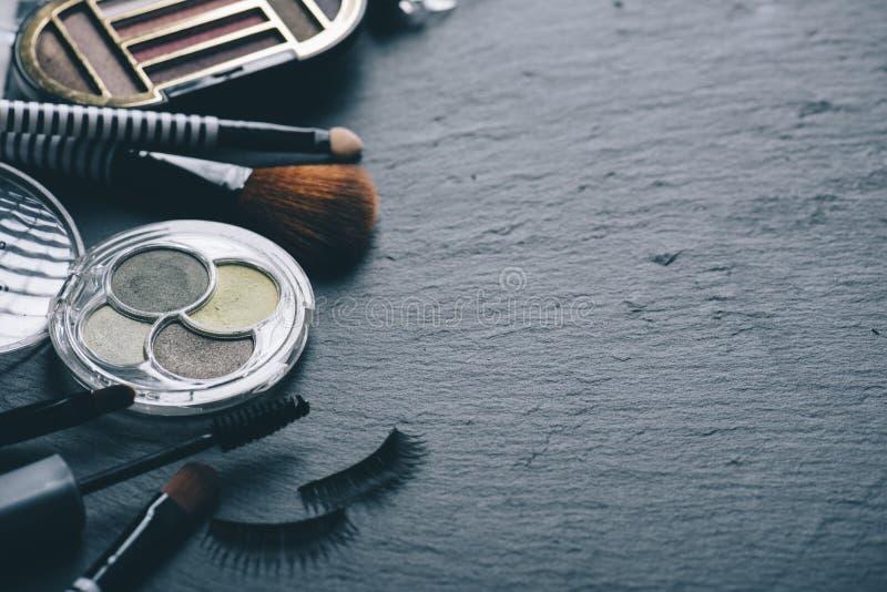 Grupo profissional do maquilhador fotos de stock