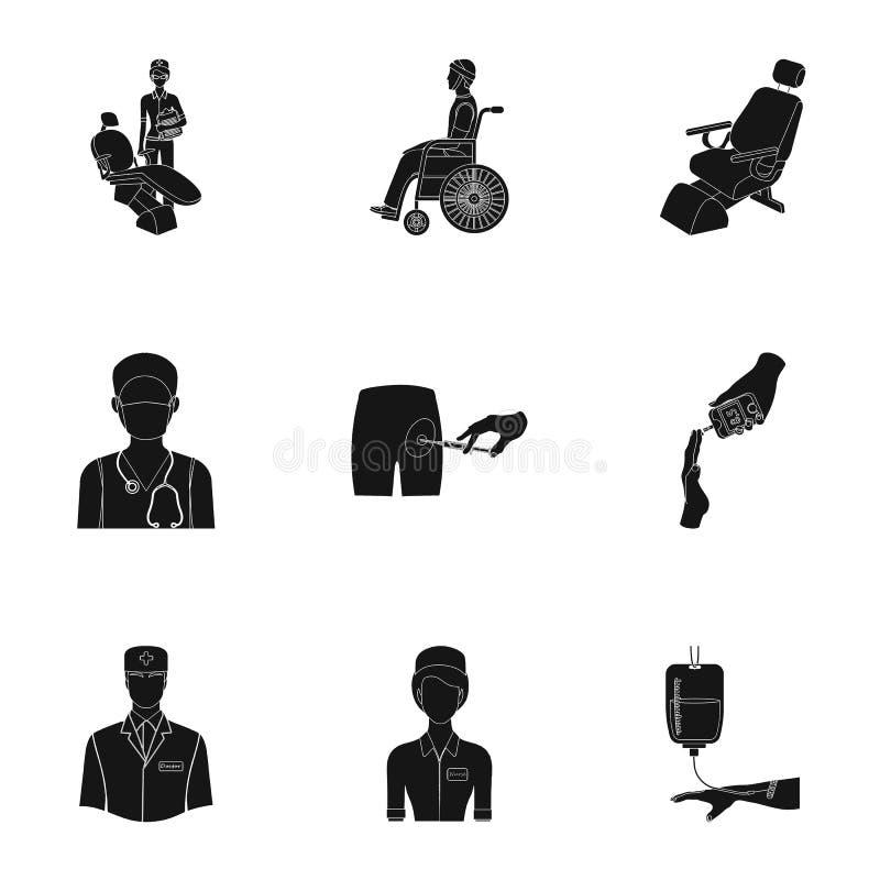 grupo relacionado médico do ícone ilustração royalty free