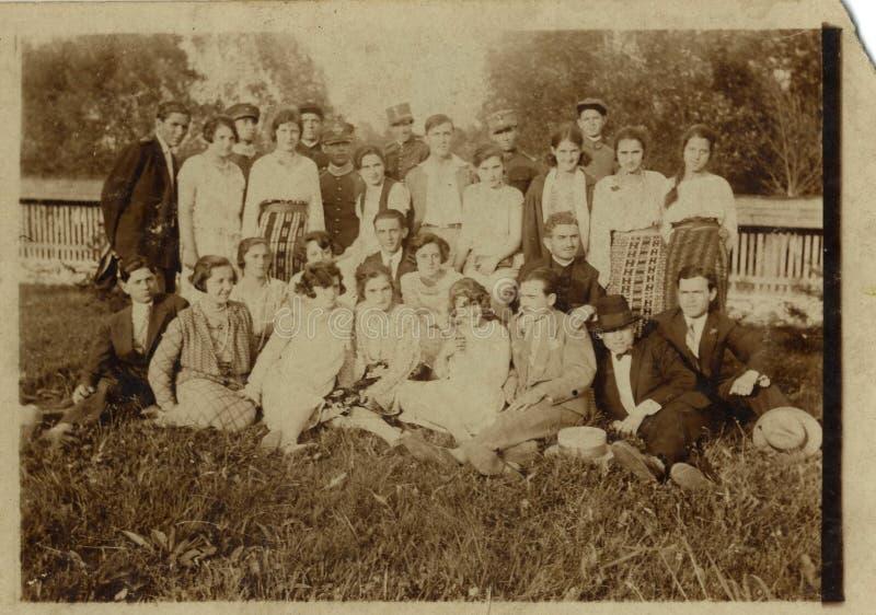 Grupo romeno fotos de stock
