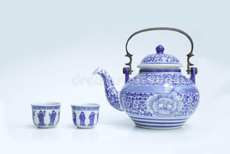 Grupos de chá chineses fotografia de stock royalty free