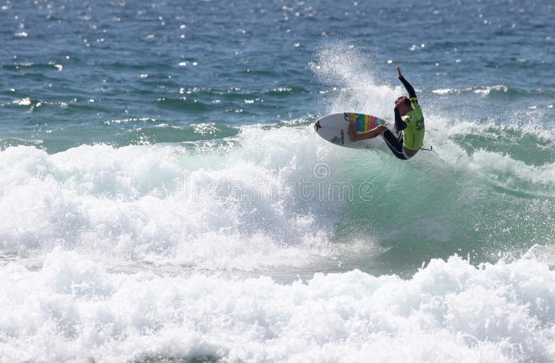 Grupos de Mitch - praia viril aberta do Australian fotos de stock royalty free