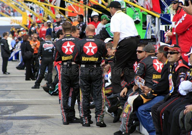 Grupos de NASCAR no pronto fotografia de stock royalty free