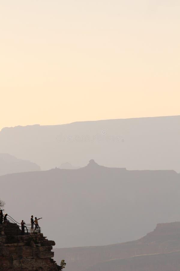 Grupos de Sun em Grand Canyon imagens de stock