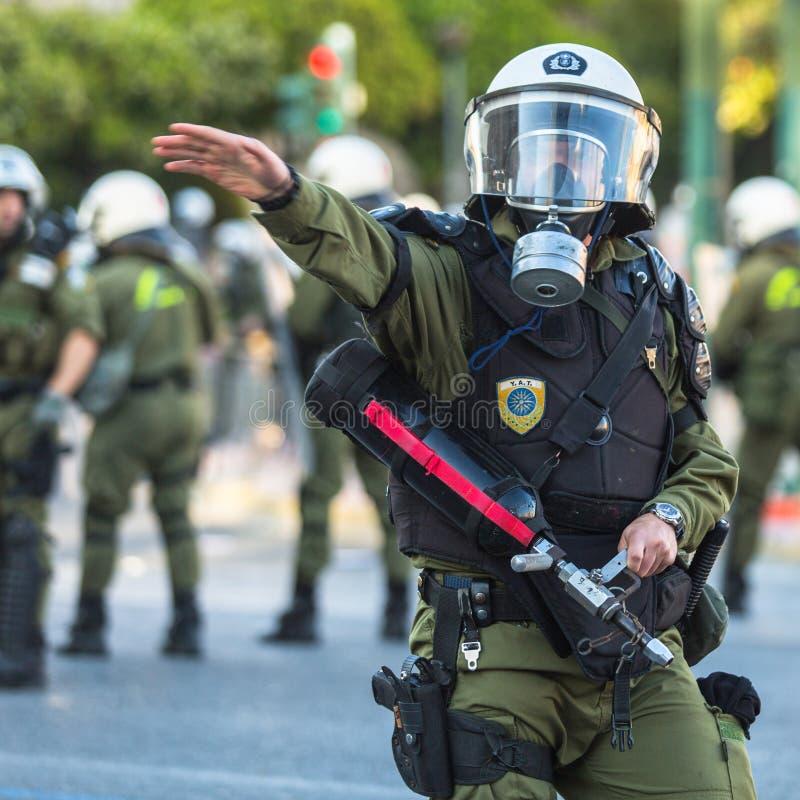 Grupos do de esquerdas e do anarquista que procuram a abolição de prisões máximas novas da segurança foto de stock royalty free