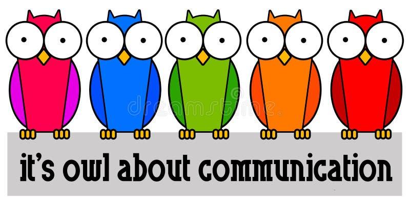 Grupowa komunikacja ilustracji