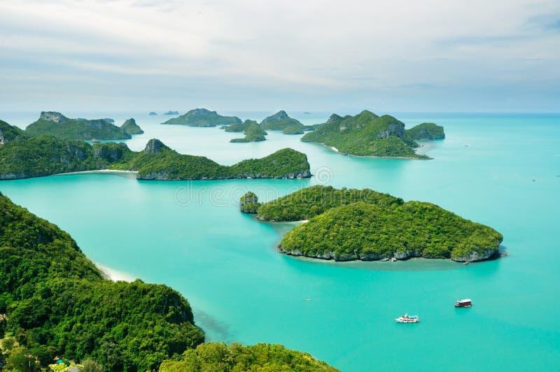 grupowa wyspa zdjęcia stock