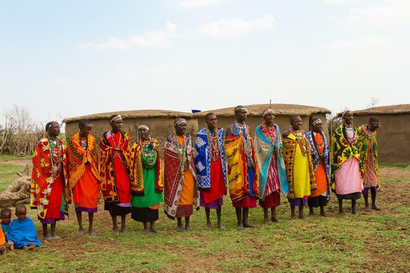 grupowe kenijskie kobiety fotografia royalty free