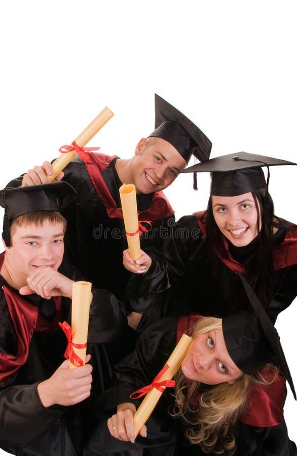 grupowi ucznie zdjęcia stock