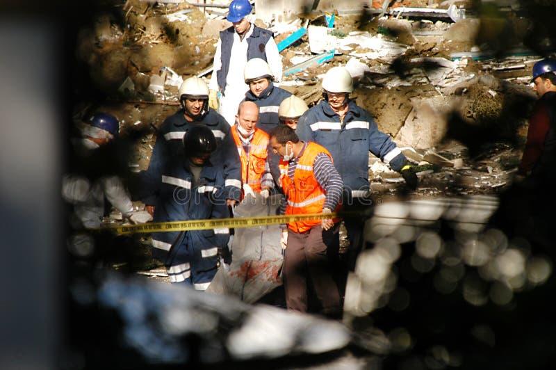 grupp 2003 bombarderar hsbc istanbul arkivbilder