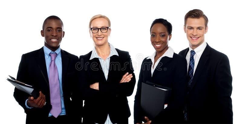 Grupp av affärsfolk arkivbilder