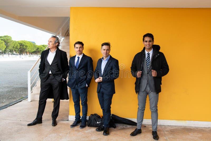 Grupp av affärsmannen royaltyfri fotografi