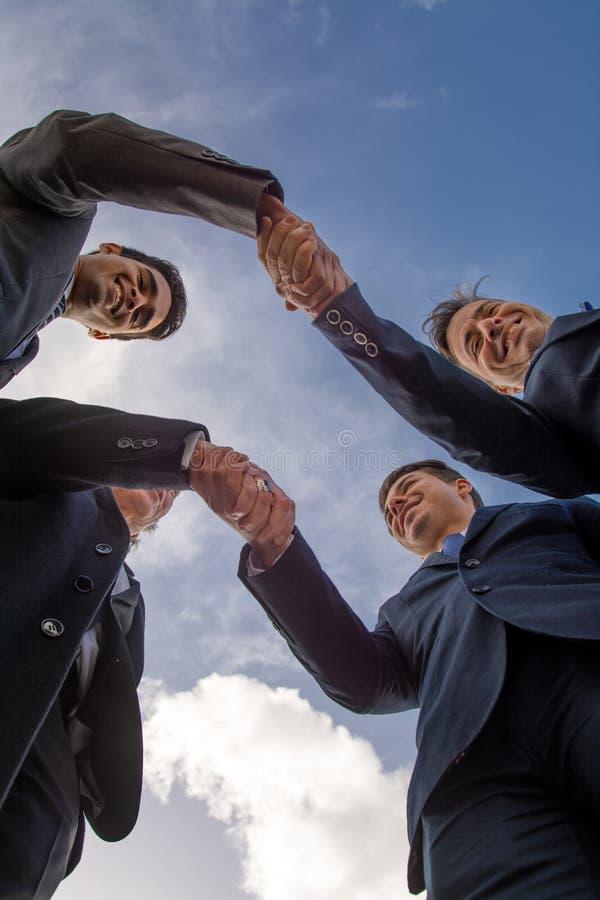 Grupp av affärsmannen arkivfoton
