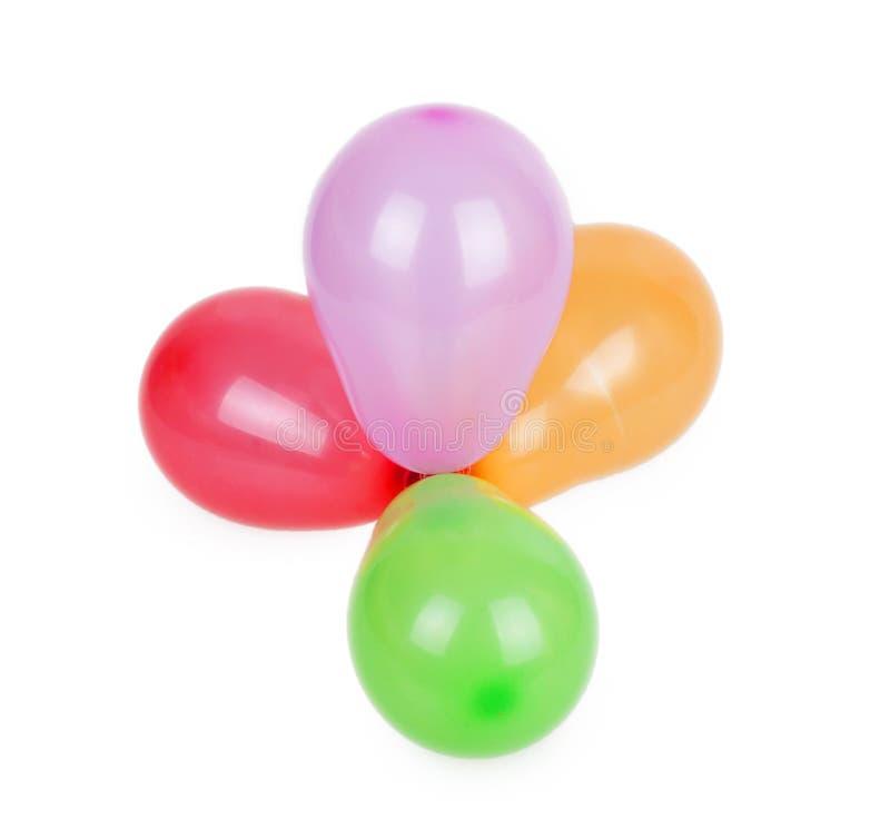 Grupp av ballonger royaltyfri fotografi