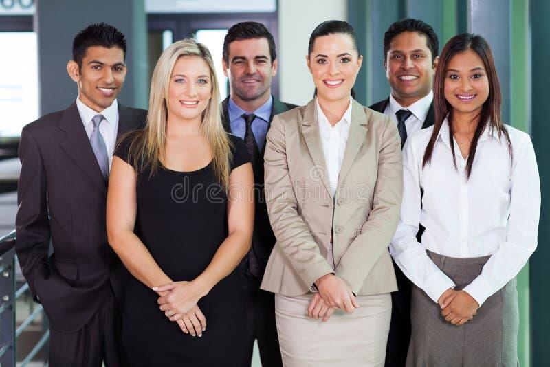 Grupp av businesspeople arkivbilder