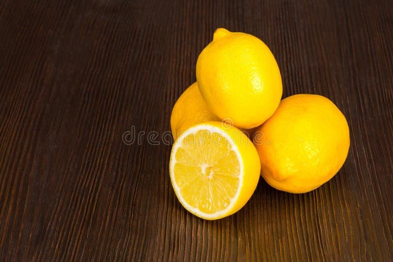 Grupp av den nya citronen fotografering för bildbyråer