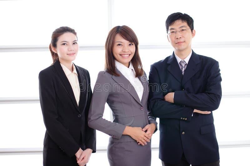 Grupp av framgångaffärsfolk arkivbild