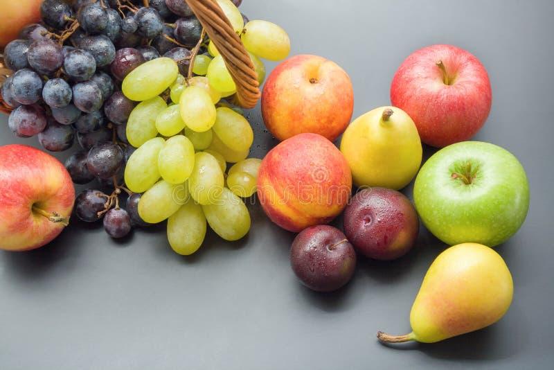 Grupp av frukter arkivbilder