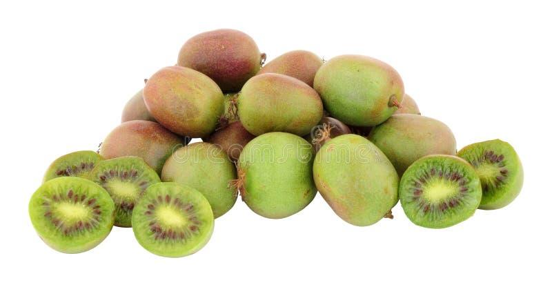 Grupp av Kiwi Berries royaltyfria foton