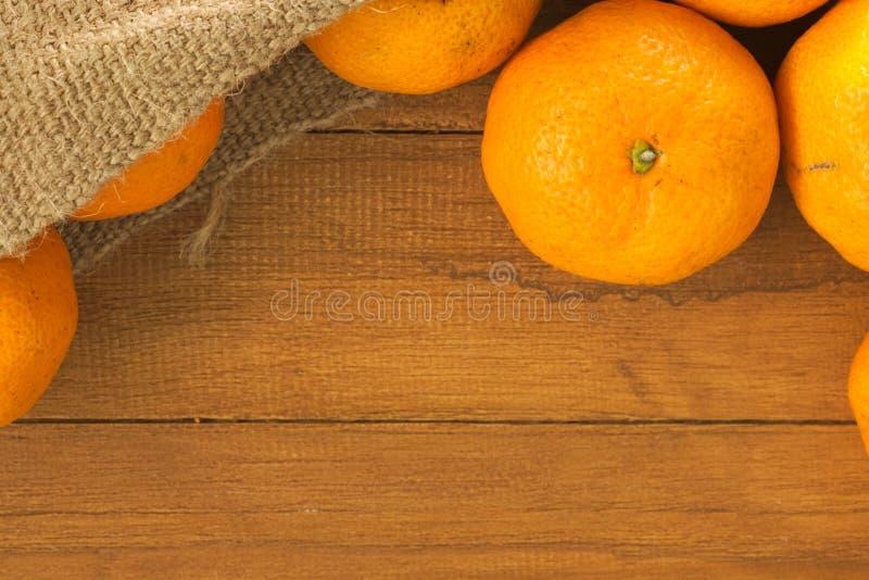 Grupp av mandarinen arkivbilder