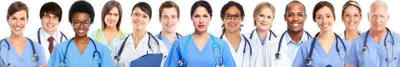 Grupp av medicinska doktorer royaltyfri fotografi