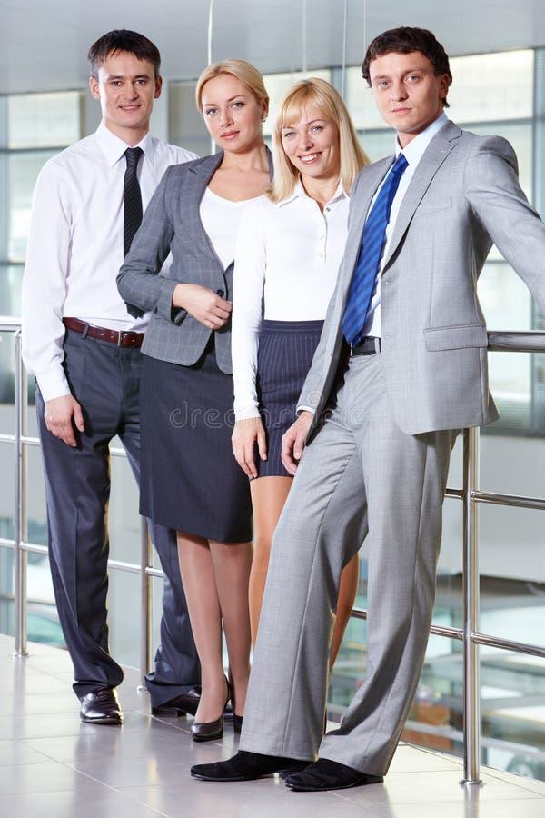 Grupp av partners royaltyfria foton