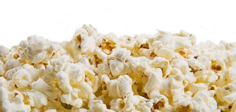 Grupp av popcorntexturbakgrund arkivbilder