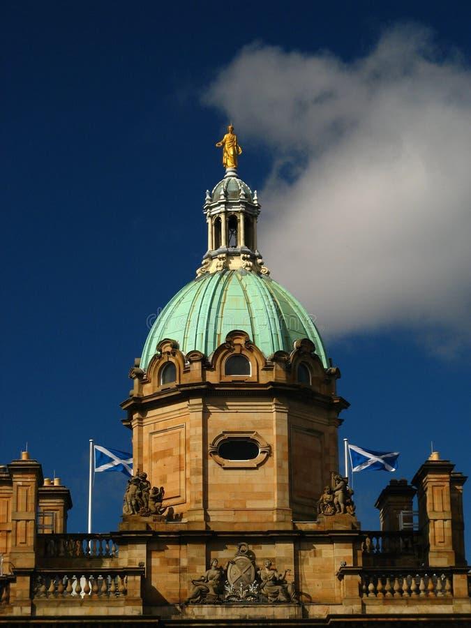 grupp scotland arkivbild