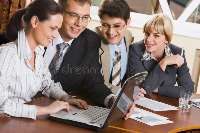 Gruppe Arbeitskräfte lizenzfreie stockbilder