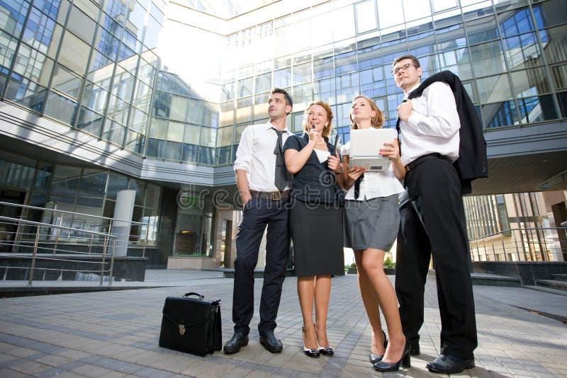 Gruppe Büroangestellte stockfoto