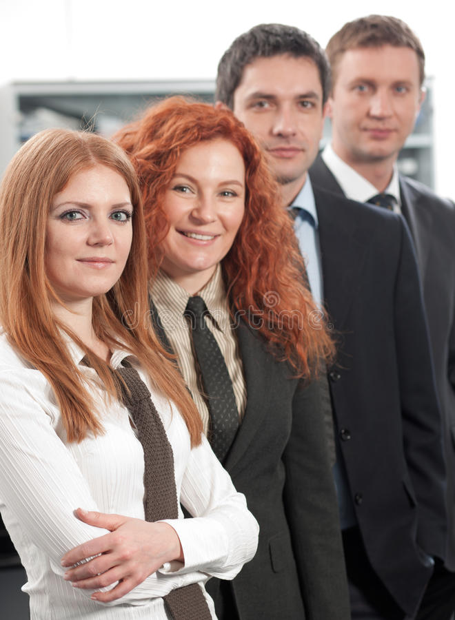Gruppe Büroangestellte lizenzfreies stockfoto