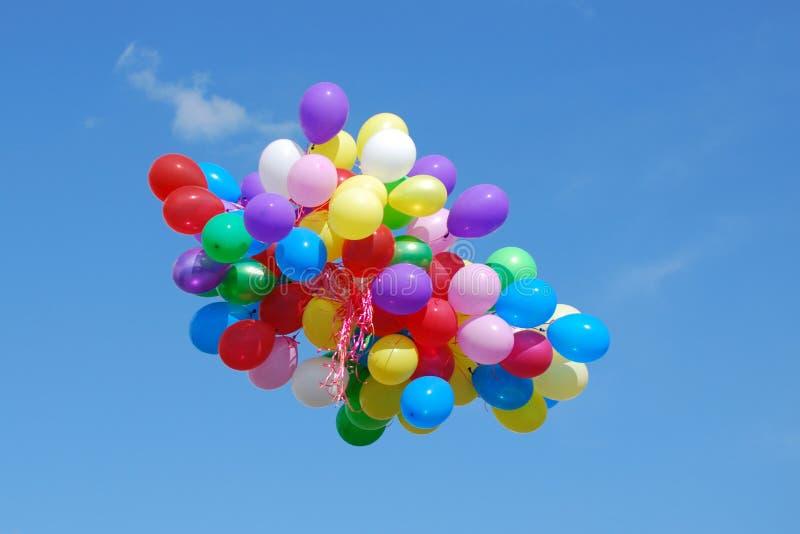 Gruppe Ballone stockfotos