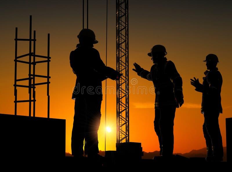Gruppe der Arbeitskräfte vektor abbildung