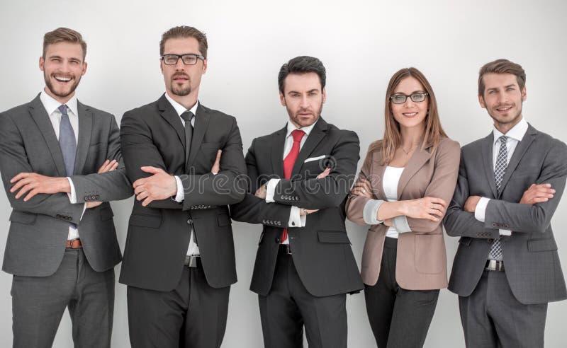 Gruppe erfolgreiche Geschäftsleute lizenzfreies stockbild