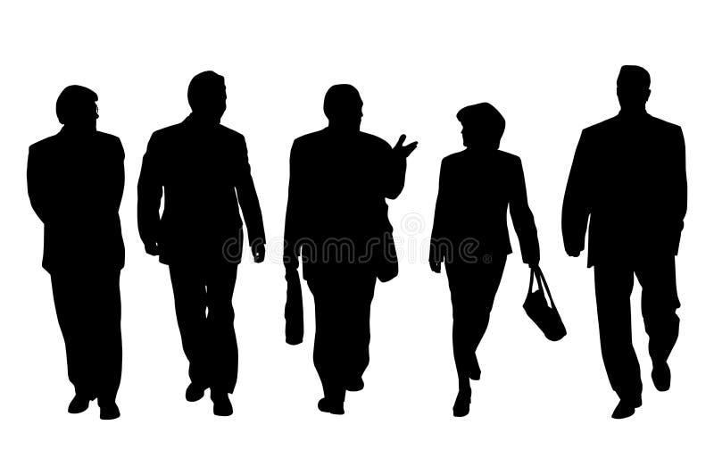 Gruppe Geschäftsleute vektor abbildung