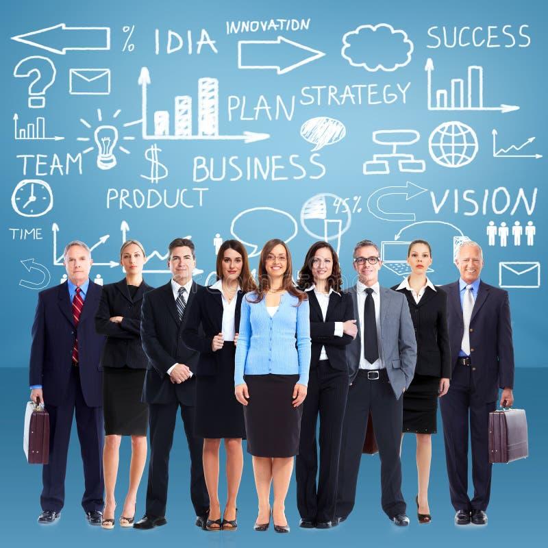 Gruppe Geschäftsleute Team lizenzfreie stockbilder