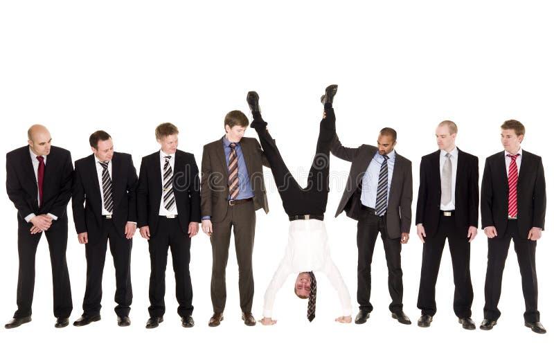 Gruppe Geschäftsmänner stockfotos