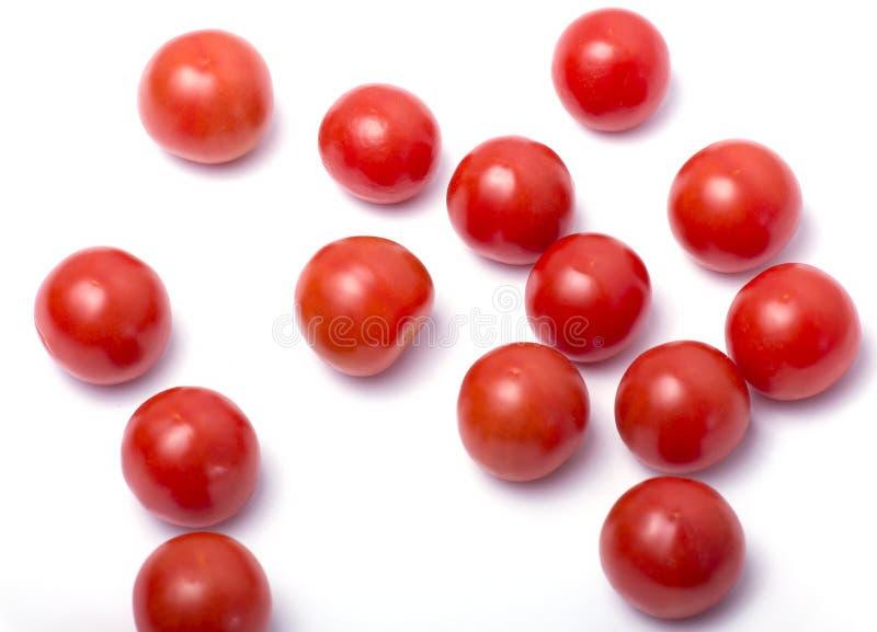 Gruppe kleine Tomaten stockfoto
