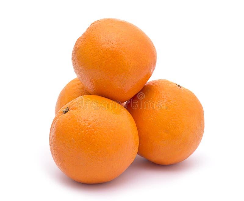 Gruppe Orangen stockbild
