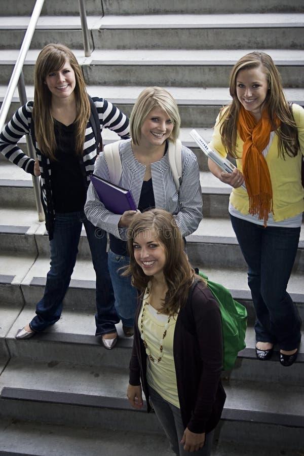 Gruppe Studenten stockbilder
