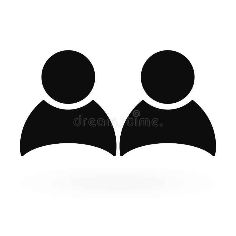 Gruppe von Personen Gesch?ftsteam, Personalwesen Auch im corel abgehobenen Betrag stock abbildung