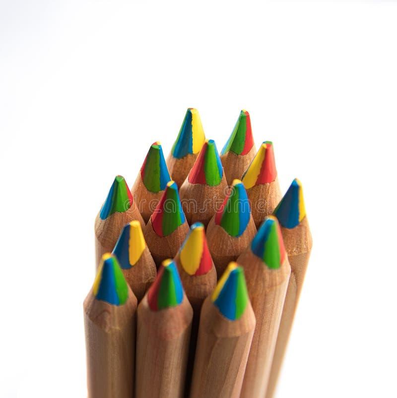 Gruppen av färgar ritar fotografering för bildbyråer
