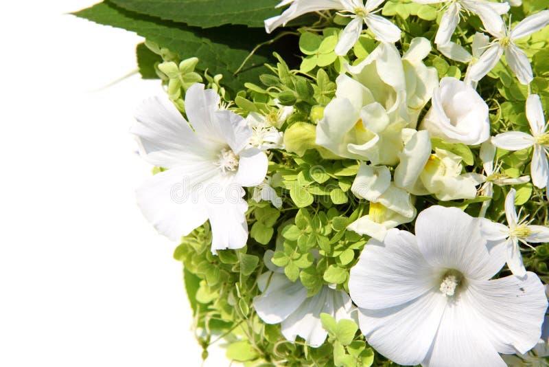 gruppen blommar bröllop arkivfoton
