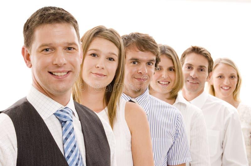 Gruppen-Geschäfts-Team lizenzfreie stockbilder