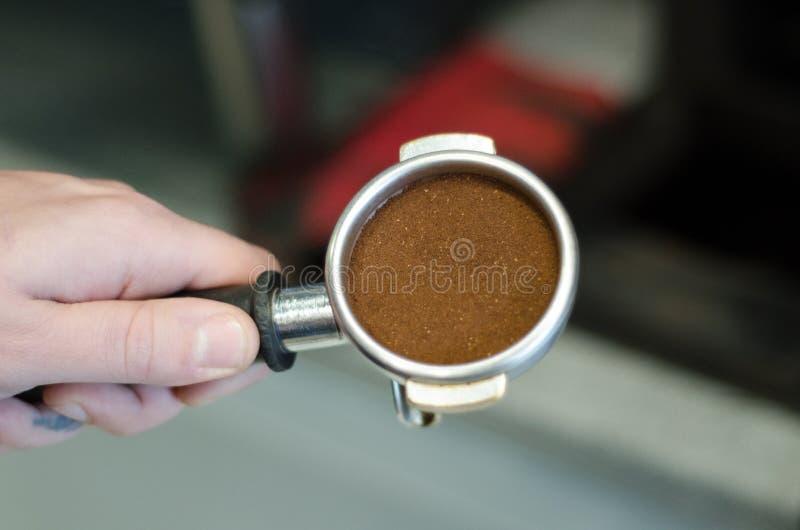 Gruppenanführerkaffeemaschine lizenzfreie stockfotografie