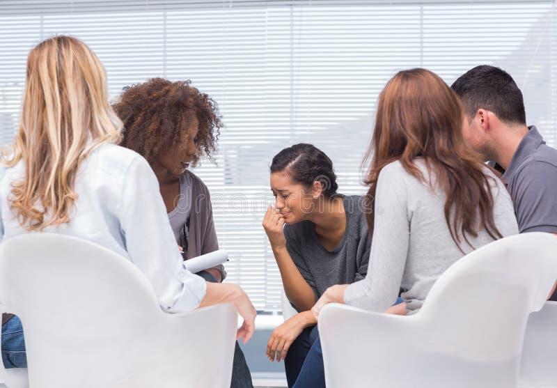 Gruppentherapie lizenzfreies stockfoto