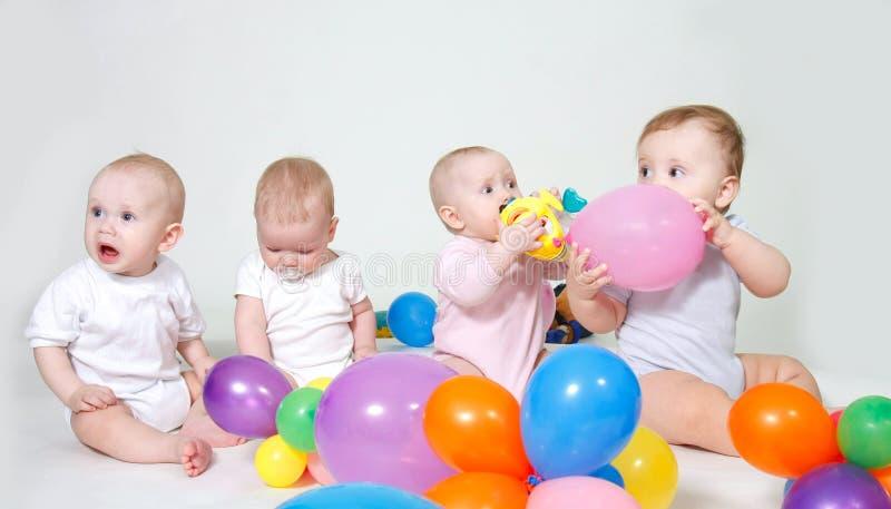 grupplitet barn royaltyfri fotografi