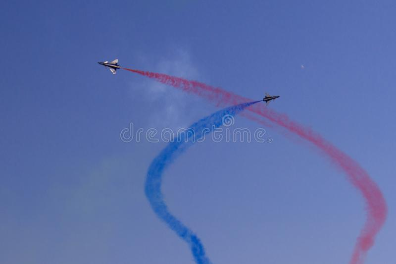 Gruppo acrobatici cinese fotografia stock