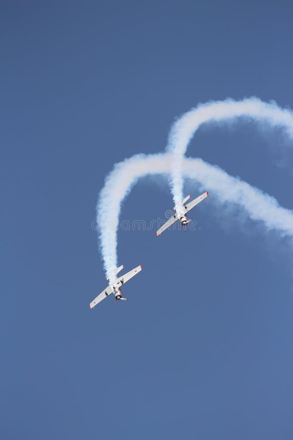 Gruppo acrobatici: Il Yakolevs fotografie stock