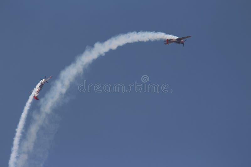 Gruppo acrobatici: Il Yakolevs immagine stock libera da diritti